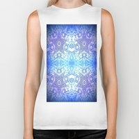 frozen Biker Tanks featuring Frozen Stars Periwinkle Lavender Blue by 2sweet4words Designs