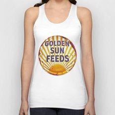 Golden Sun Feeds Unisex Tank Top