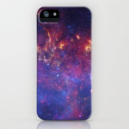 the milky hand of the spiral   space 010 iPhone Case