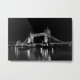 Tower Bridge, London Metal Print