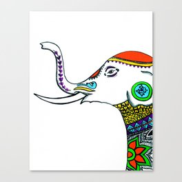 Tusker Canvas Print