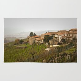 vineyard in veneto Rug