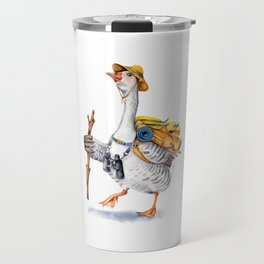 Hiking Goose Travel Mug