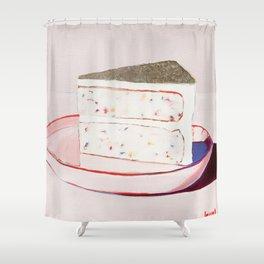Funfetti Cake Shower Curtain