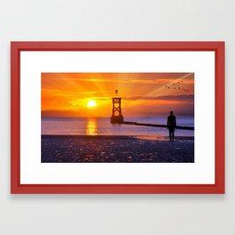 rays Framed Art Print