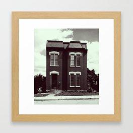 She's A Brick House (b&w) Framed Art Print