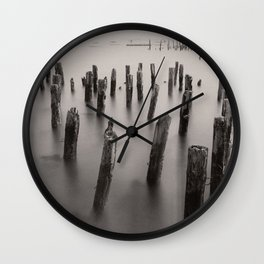 Portland Pillars Wall Clock