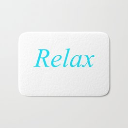 Relax Beach 1 Bath Mat