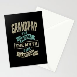 Grandpap The Myth The Legend Stationery Cards