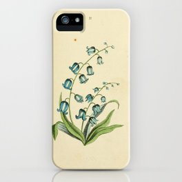 Blue or Harebell iPhone Case