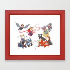 m2 Framed Art Print