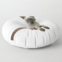 Siamese Kitten Floor Pillow