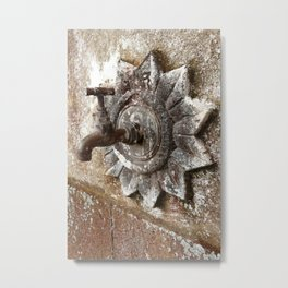 An old tap Metal Print