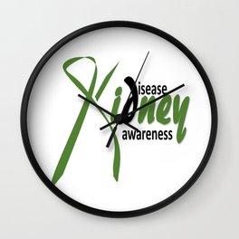 Kidney Disease Awareness Wall Clock