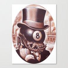 ocho loco  Canvas Print
