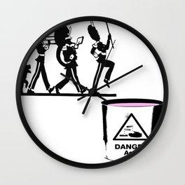 Bandt-Acid  Wall Clock