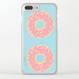 Donuts 2 Clear iPhone Case