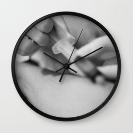 a kind of bloody valentine Wall Clock