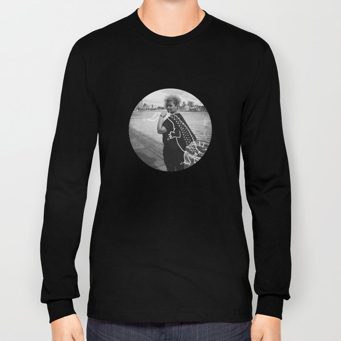 The Urban Crocodile Huntress Long Sleeve T-shirt