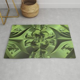 Cool Green of Summer Rug