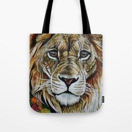 Beauty Lion Tote Bag