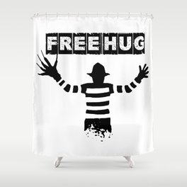 freddy hugs Shower Curtain