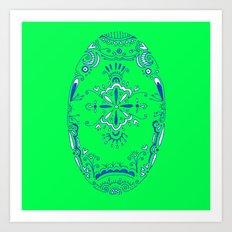 hue Art Print