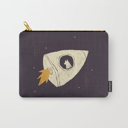 laika(purple) Carry-All Pouch