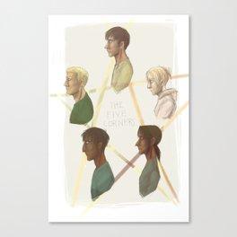 pentangle Canvas Print