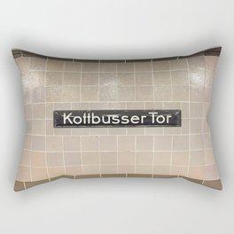 Berlin U-Bahn Memories - Kottbusser Tor U8 Rectangular Pillow