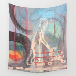 Across Town Wall Tapestry