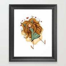 Amorousness Framed Art Print