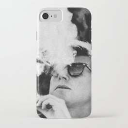 Cigar Smoker Cigar Lover JFK Gifts Black And White Photo T Shirt iPhone Case