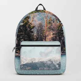 They were shy, and they melted in love with sunlight kisses Backpack