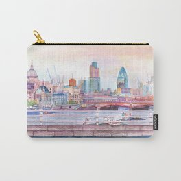 Colorful London Carry-All Pouch