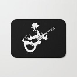 Musician playing Bath Mat