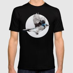 Blue Jay Black X-LARGE Mens Fitted Tee