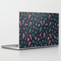 the office Laptop & iPad Skins featuring Office plankton by Victoria Sochivko