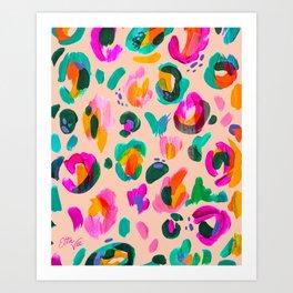 EttaVee Leo no.10 Art Print