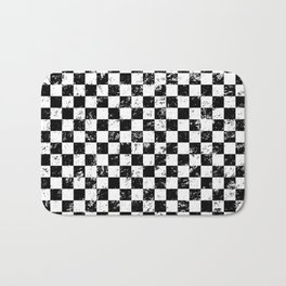 Checkers Bath Mat