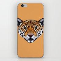 jaguar iPhone & iPod Skins featuring Jaguar by peachandguava