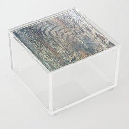Bark Feather Acrylic Box