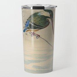 Kingfisher - Ohara Koson (ca. 1920) Travel Mug