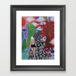 Walk of a Lifetime Framed Art Print