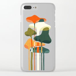 Little mushroom Clear iPhone Case