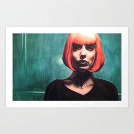 Self As Someone Else Art Print
