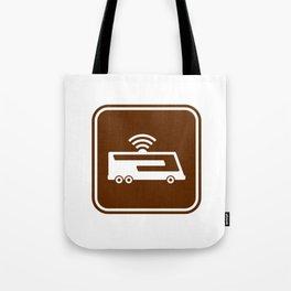 "Urban Pictograms ""Google Bus"" Tote Bag"