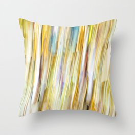 Bright Shower of Color Throw Pillow