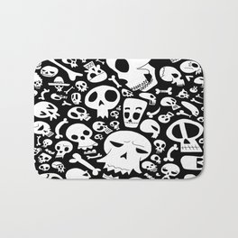 skully Bath Mat