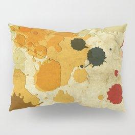 Golden Rod Splash Pillow Sham